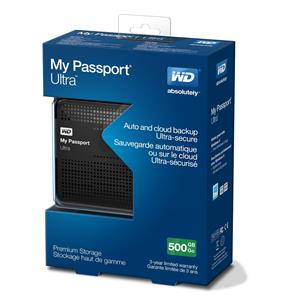 Western Digital MyPassport-Ultra-500GB